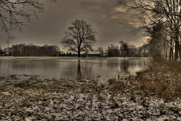 Hochwasser in der Lausitz