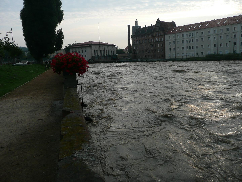 Hochwasser in Guben 2010