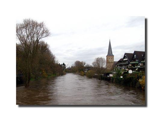 Hochwasser in Leichlingen