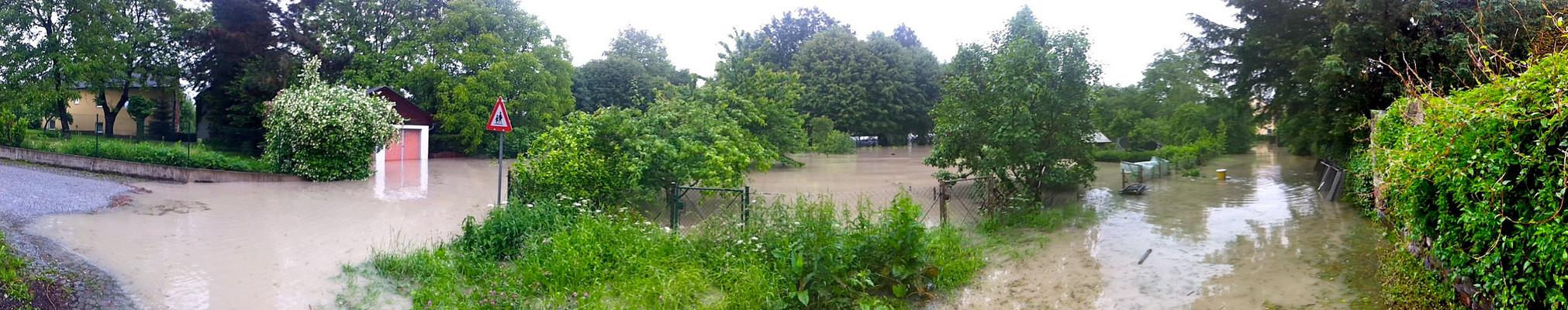Hochwasser in Ottensheim