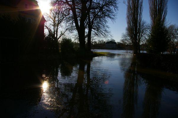 Hochwasser in Pillnitz