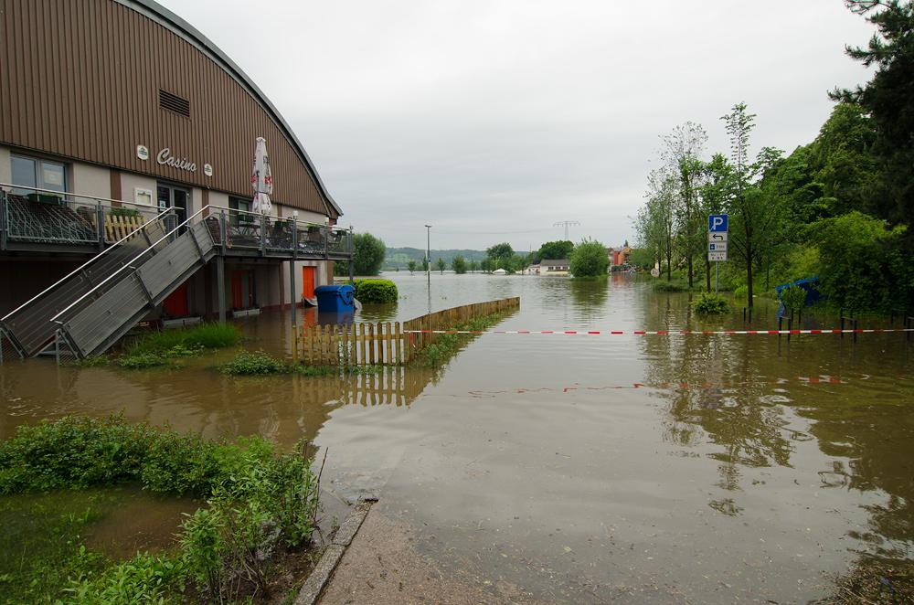Hochwasser in Radebeul