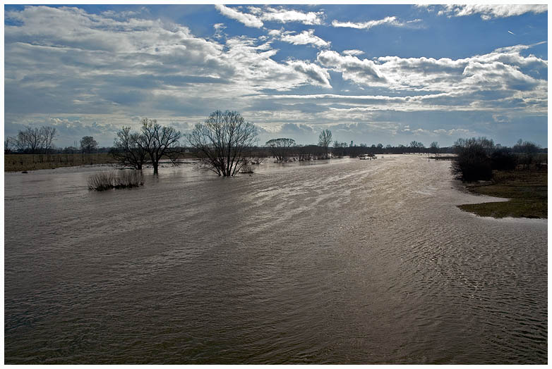 Hochwasser komt......