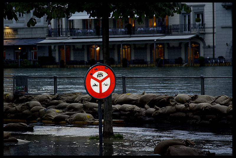 Hochwasser Luzern 2