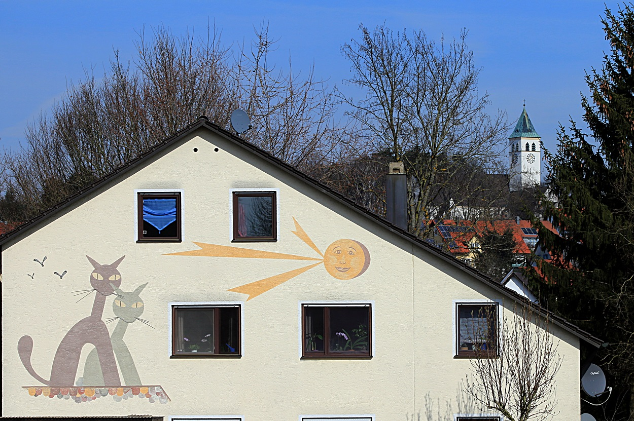 Hochwertige Wandmalerei