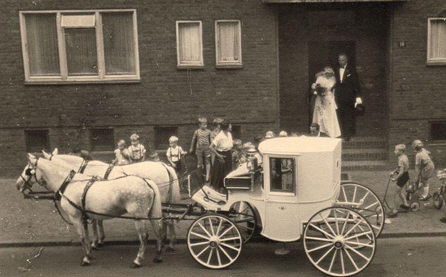 Hochzeit 1955