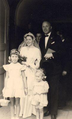 Hochzeit 1955 + peinliche Situation