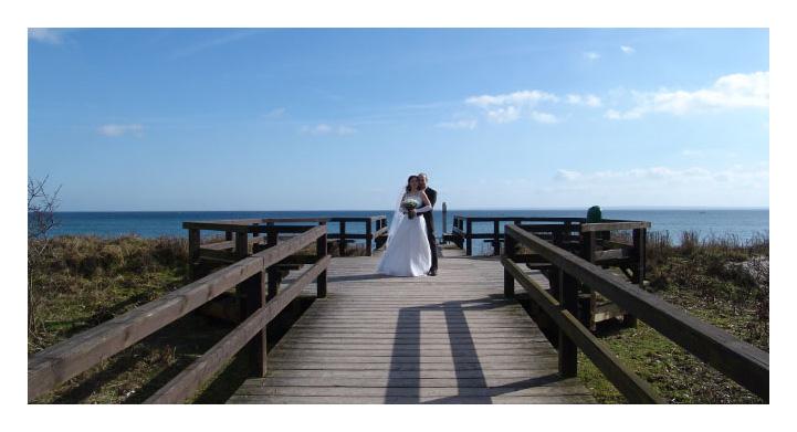 Hochzeit am Meer...