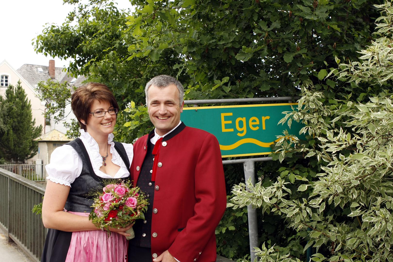 Hochzeit an der Eger...