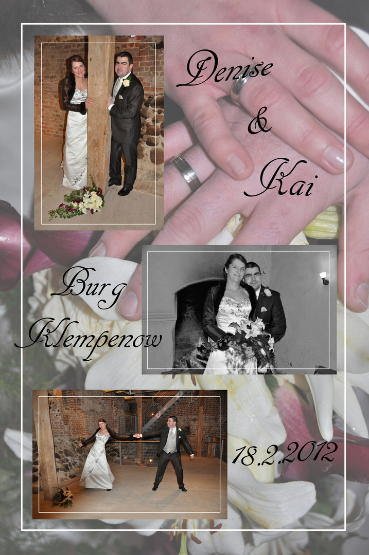 Hochzeit auf einer Burg !