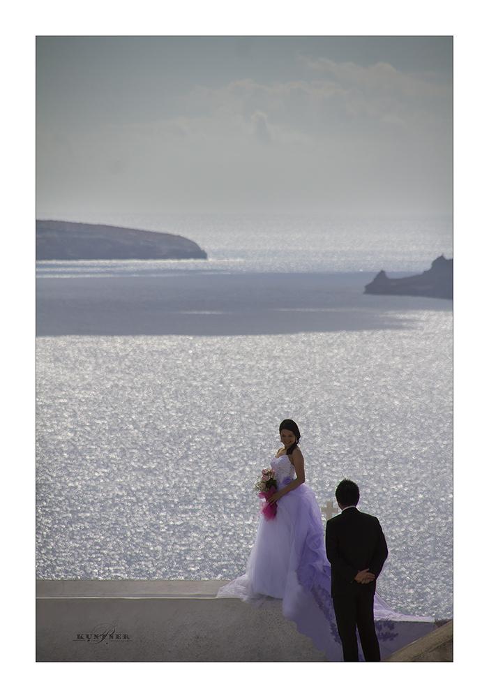 Hochzeit auf Santorin