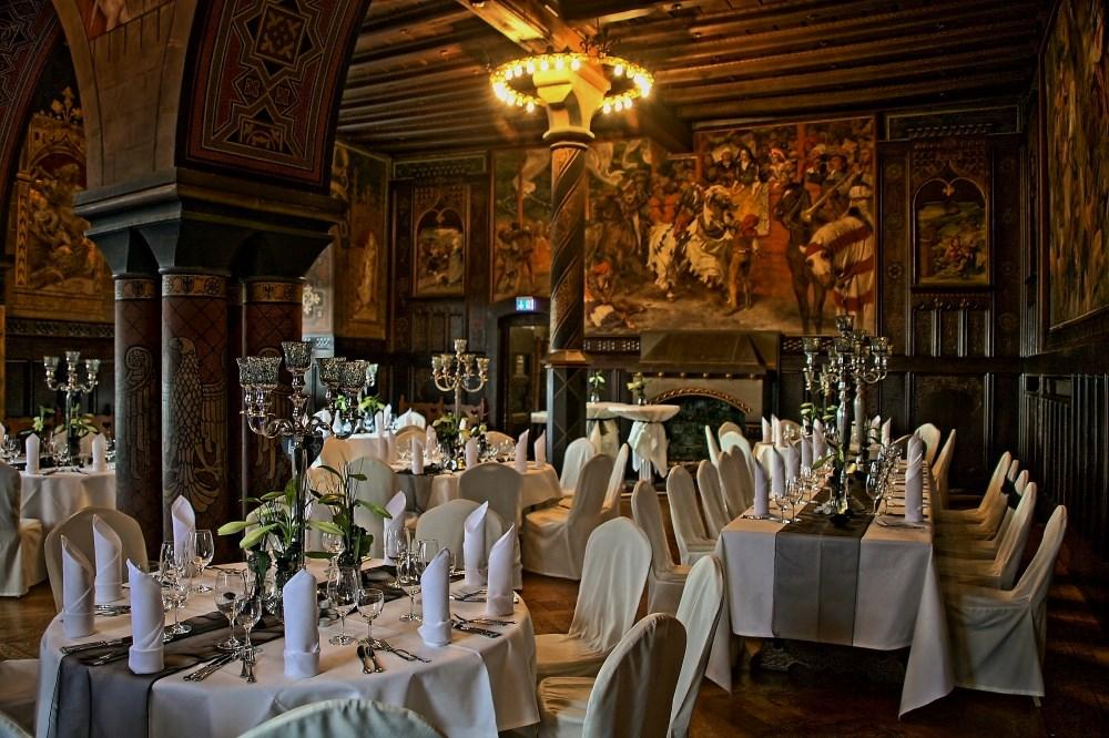 Hochzeit auf Schloß Burg