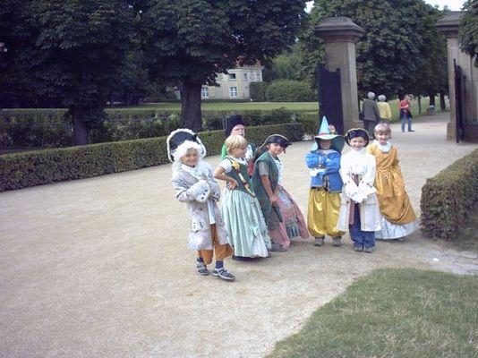 Hochzeit auf Schloß Moritzburg