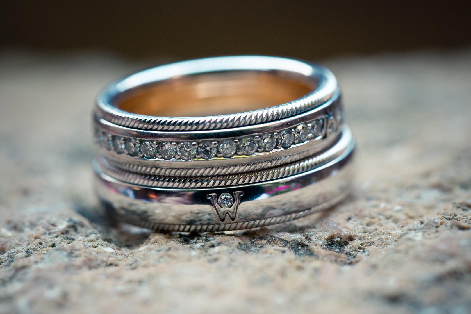 Hochzeit die Ringe
