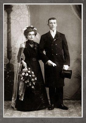 Hochzeit etwa 1900