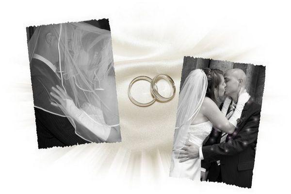 Hochzeit Fotocollage