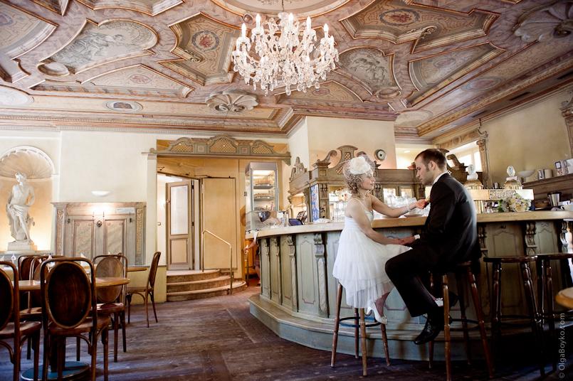 Hochzeit im Bamberger Haus München Foto & Bild
