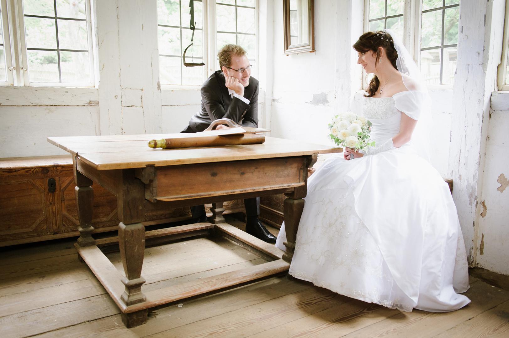Hochzeit im Bauernhofmuseum
