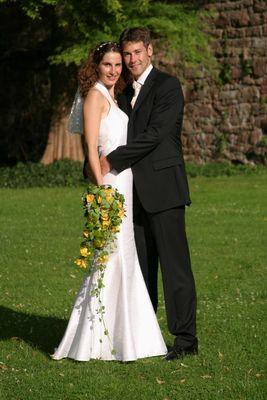 Hochzeit im Schloßpark