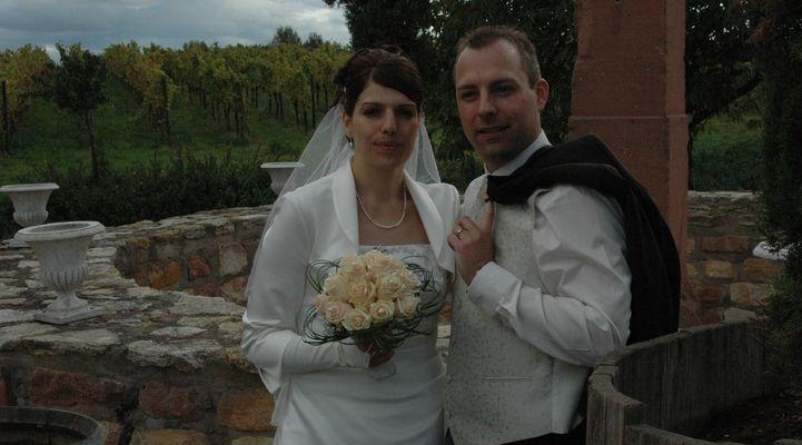 Hochzeit in den Reben