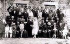 Hochzeit in der Auvergne um 1935