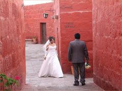 Hochzeit in der Calle Sevilla ... in Peru