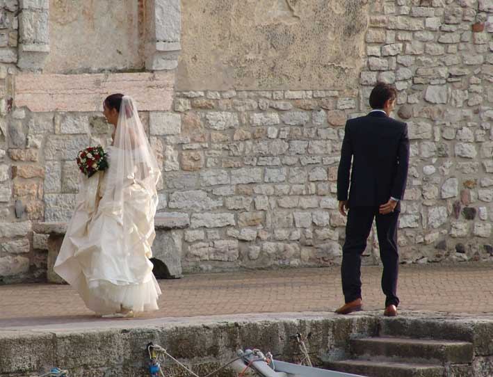 Hochzeit in Malcesine