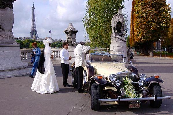 Hochzeit in Paris I