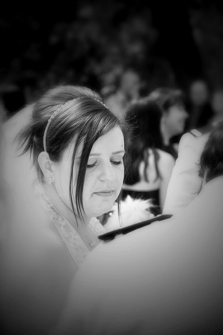 Hochzeit in Weiß...
