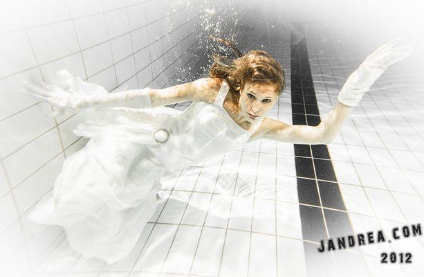 Hochzeit ist ins Wasser gefallen
