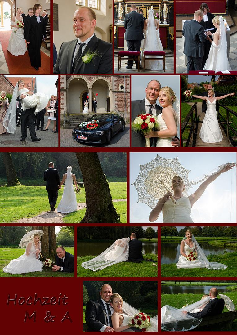 Hochzeit M & A