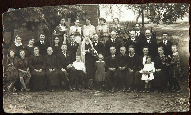 Hochzeit meiner Großeltern von 1928