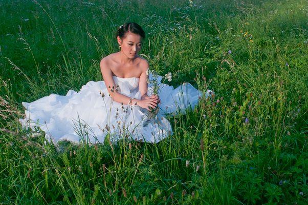 Hochzeit mit der Natur