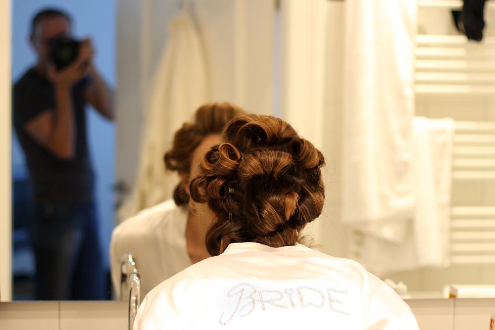 Hochzeit M&M - Make-Up-Check