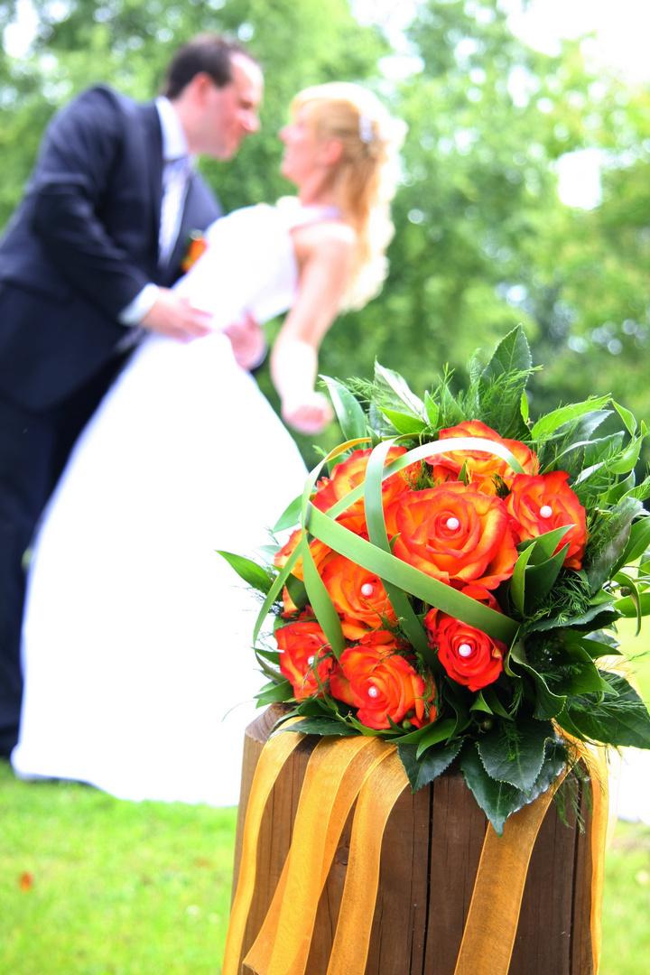 Hochzeit Schärfentiefe