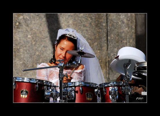 Hochzeit + Schlagzeug