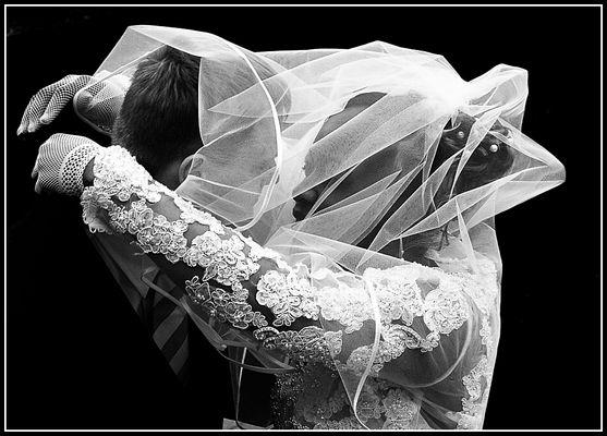 Hochzeit Schwarz - Weiß