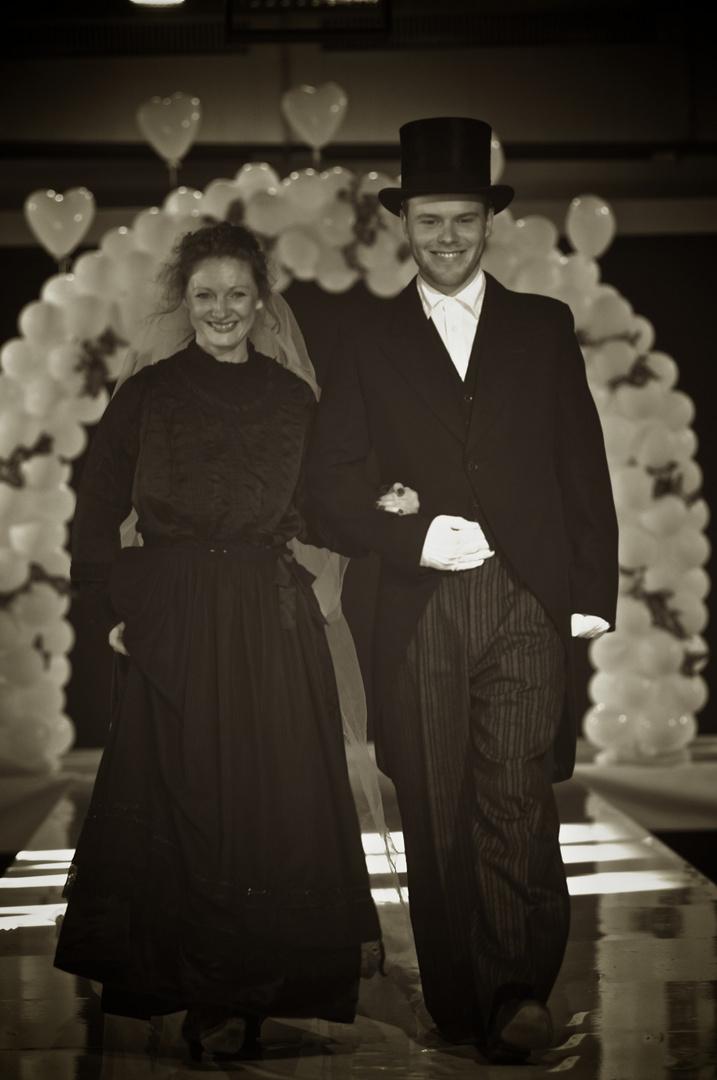 Hochzeit um die Jahrhundertwende....