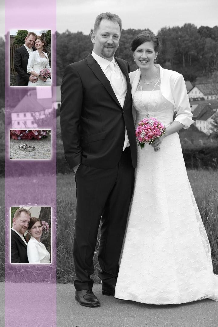 Hochzeit von Melly und Roland