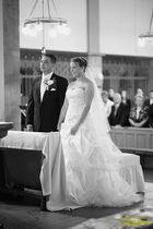 Hochzeit vor dem Paarshooting auf dem Schrottplatz 1 ... :-)