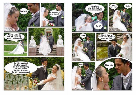 Hochzeits-Comic