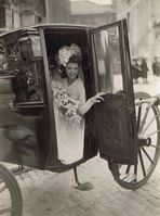 Hochzeitsbild um 1935