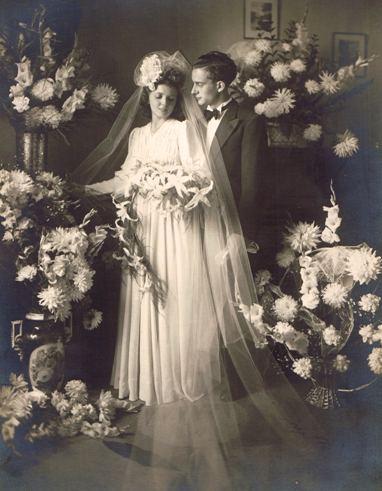 Hochzeitsbild um 1935 (bis)