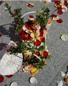 Hochzeitsblütten der Blumenkinder