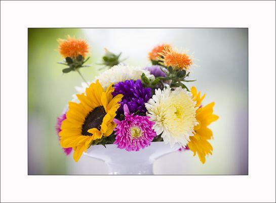 Hochzeitsblumen .....