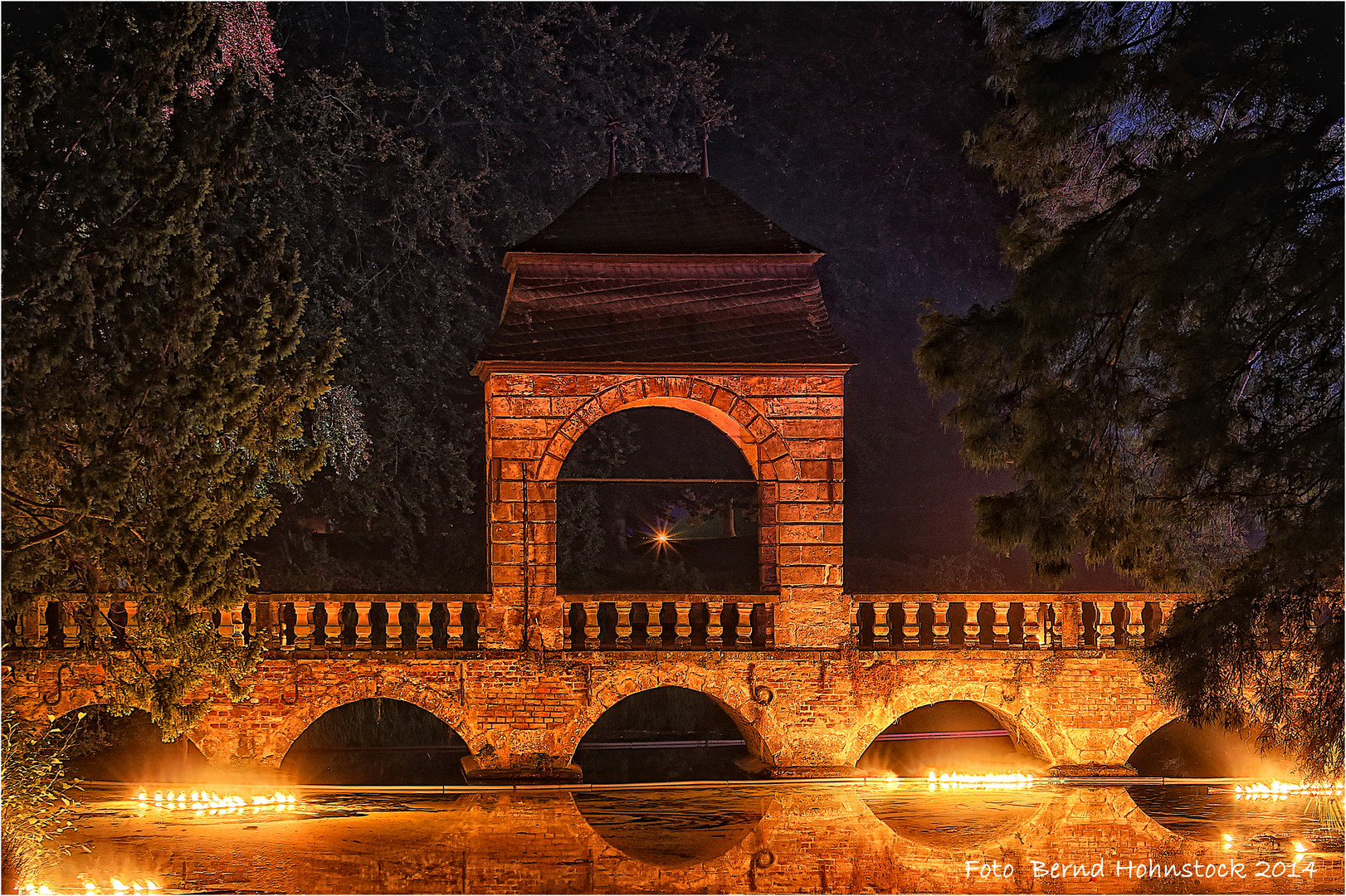 Hochzeitsbrücke Schloß Dyck 2014 ...