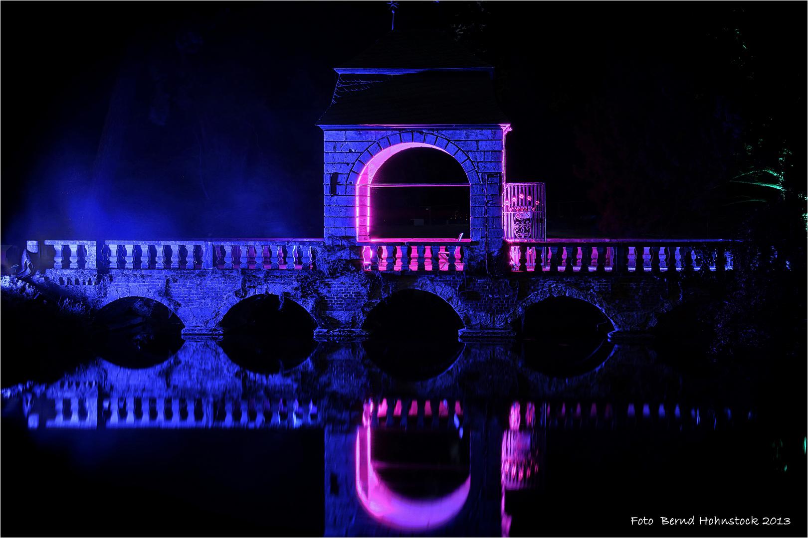 Hochzeitsbrücke Schloß Dyck Illumina 10.0