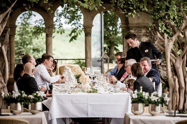Hochzeitsfoto Burg Schwarzenstein