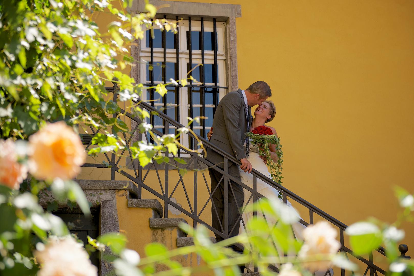 Hochzeitsfoto Schloß Melschede