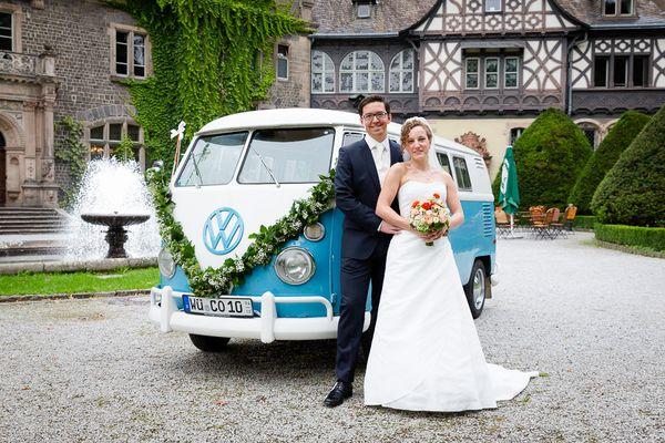 Hochzeitsfoto Schloß Rauischholzhausen